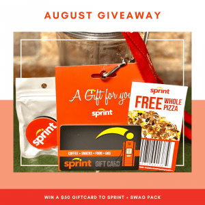 August 2020 Giveaway