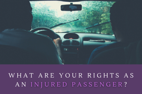 I Was a Passenger In an Accient, What Do I Do Now?